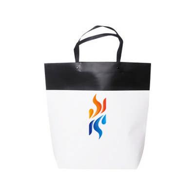 Large Black&White Boutique Paper Bag(380 x 380 x 100mm) (PCPB142_PC)