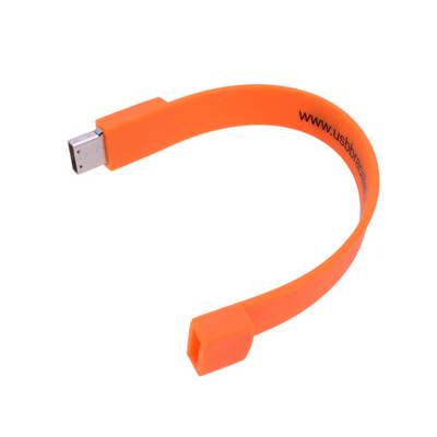 Rectangular Silicone Wristband Flash Drive   (PCU623_PC)