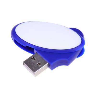 Oval Swivel Flash Drive  (PCU62X_PC)