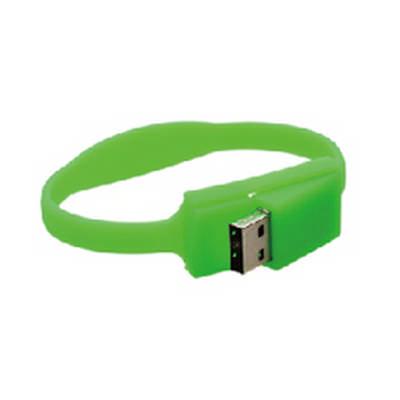 Slim Silicone Wristband Flash Drive (PCU632_PC)