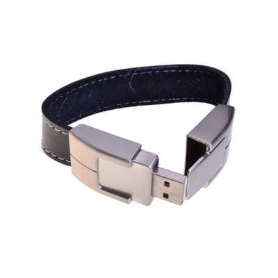 Leather Bracelet Flash Drive  (PCUHB_PC)