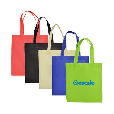 Non Woven Long Handle Bag with V Gusset (PXB023_PC)