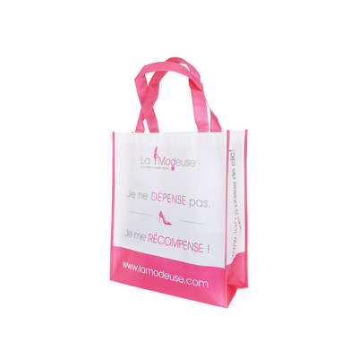 Laminated Non Woven Bag with Large Gusset (PXB029_PC)