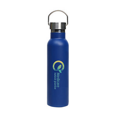 600ml Double Wall Vacuum Bottle with Stainless Steel Lid (PXD030_PC)