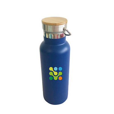 500ml Double Wall Vacuum Bottle with Bamboo Lid (PXD031_PC)