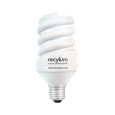 Electrical Saving Lamp Shape Stress Reliever (PXR030_PC)