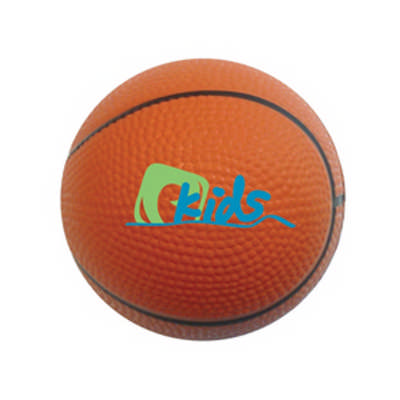 100mm Basketball Shape Stress Reliever (PXR119_PC)