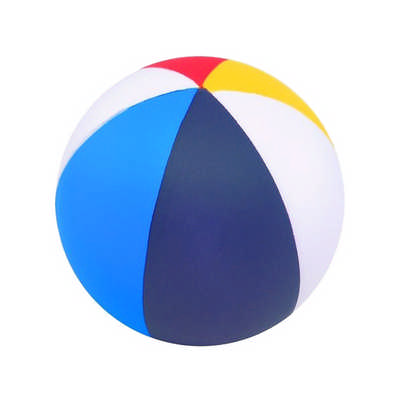 Colorfull Beach Ball Shape Stress Reliever (PXR158_PC)