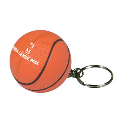 Basketball with Keyring Stress Item (PXR165_PC)