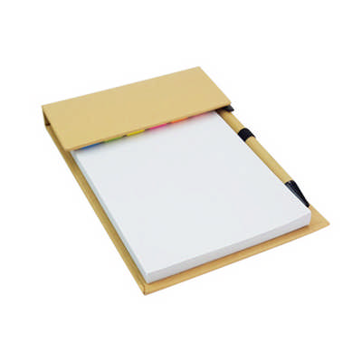 Desk Memo Pad with Pen (PXS1239_PC)