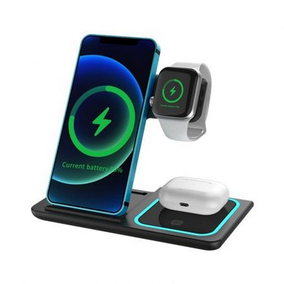 Camden Foldable 3n1 Fast Wireless Charge Stand (AR1055_PROMOITS)
