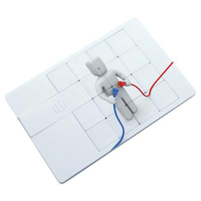 Puzzle Credit Card Flash Drive 16GB (AR320-16GB_PROMOITS)