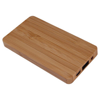 Bamboo Power Bank (4000 mAh) (AR677_PROMOITS)