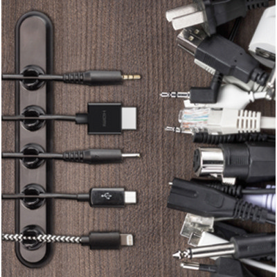 Cable Quack - Cable Organiser (5 Cables) - (printed with 4 colour(s)) - (AR727-5_PROMOITS)