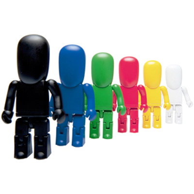 USB People 2GB - Plain Colours (USM6092A-2GB_PROMOITS)
