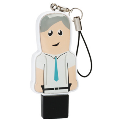 Mini USB People 32GB - Professional   (USM6109B-32GB_PROMOITS)