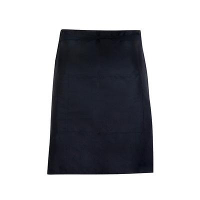 Short Waist Apron - 190 gsm Poly/cotton (AP501S_RAMO)