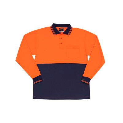 Hi Vis Long Sleeve Polo (PS101L_RAMO)