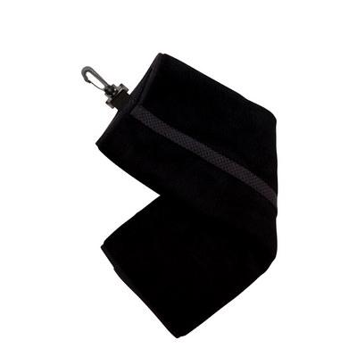 Bamboo Golf Towel with plastic hook (TW001G_RAMO)