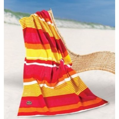Bright Stripes Beach  towel (BS128_SIM)