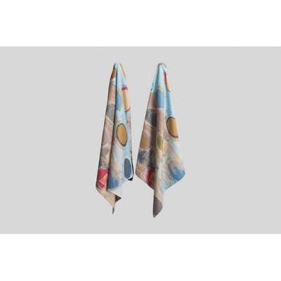 Colour Plus Printed medium beach towel edge to edge print area (CP113_SIM)