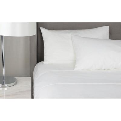 Sapphire King Single Bed Flat Sheet (CSS-202-KSB_SIM)