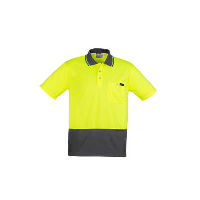 Mens Comfort Back SS Polo (ZH415_SYZM)