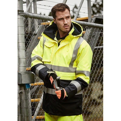 Mens FR Arc Rated Anti Static Waterproof Jacket (ZJ900_SYZM)