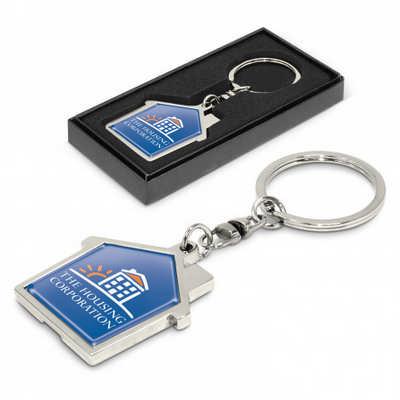 House Metal Key Ring (100322_TRDZ)