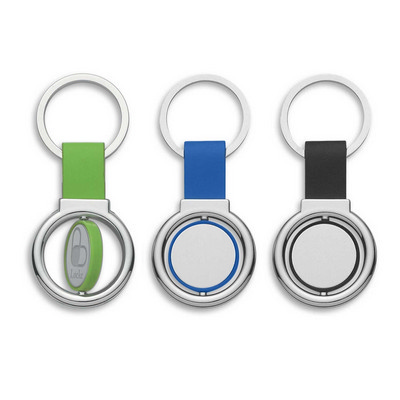 Circular Metal Spinner Key Ring (109650_TRDZ)