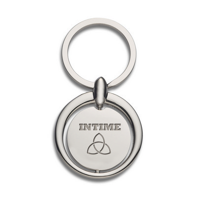 Circular Metal Key Ring (109658_TRDZ)