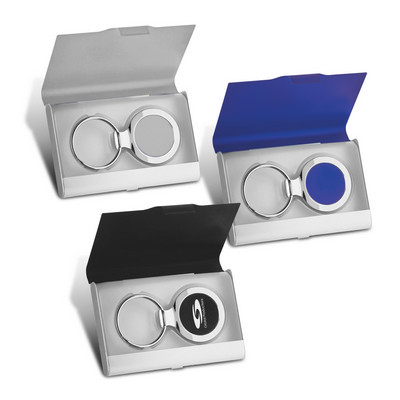 Key Ring and Business Card Holder  (109660_TRDZ)