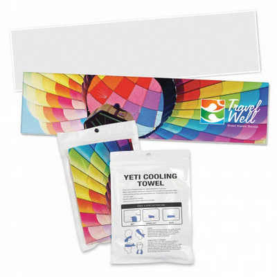 Yeti Premium Cooling Towel - Full Colour - Pouch (110464_TRDZ)