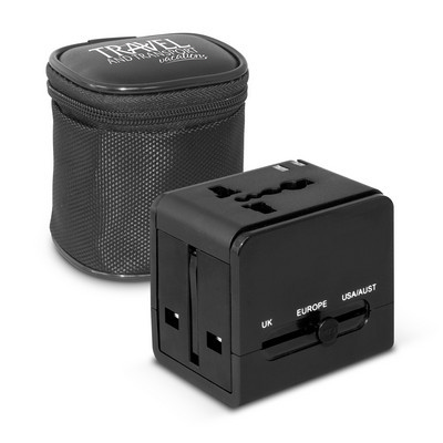 Intrepid Travel Adapter (110554_TRDZ)