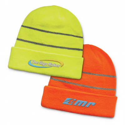 Everest Hi-Vis Beanie - (printed with 4 colour(s)) - (110919_TRDZ)