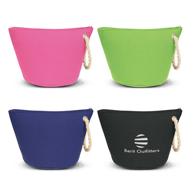 Cosmetic Bag With Rope Strap (111401_TRDZ)