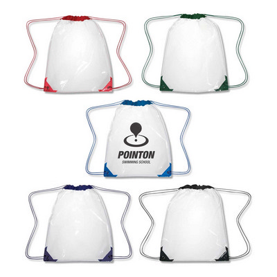 Clear Drawstring Backpack (111416_TRDZ)