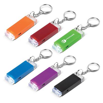 Crystal Block LED Key Chain (111596_TRDZ)