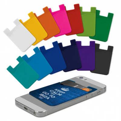 Silicone Phone Wallet - Full Colour (112924_TRDZ)