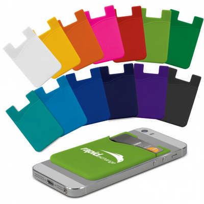 Silicone Phone Wallet - Indent (112928_TRDZ)