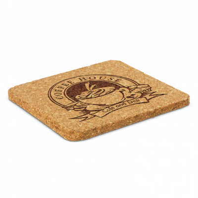 Oakridge Cork Coaster - Square (112966_TRDZ)