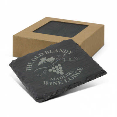 Slate Coaster Set of 4 (113118_TRDZ)