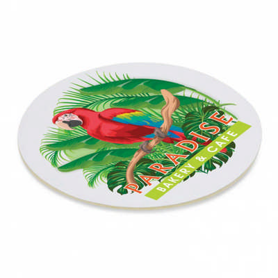 Cardboard Drink Coaster - Round (113193_TRDZ)