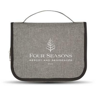 Heathered Hanging Toiletry Bag (113426_TRDZ)