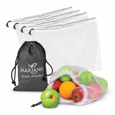 Origin Produce Bags - Set of 5 (113781_TRDZ)