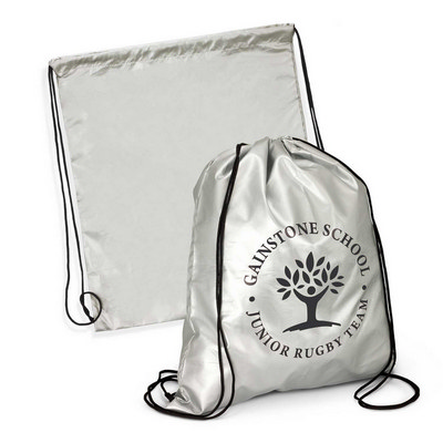 Titanium Drawstring Backpack (114081_TRDZ)
