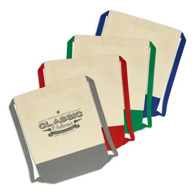 Reno Cotton Drawstring Backpack (114422_TRDZ)