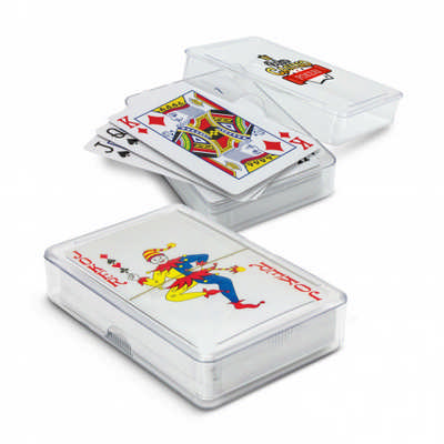Saloon Playing Cards - (printed with 1 colour(s)) - (116125_TRDZ)