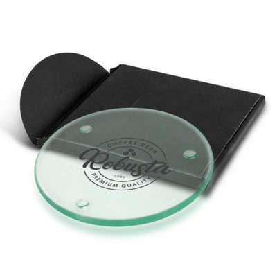 Venice Single Glass Coaster - Round (116132_TRDZ)