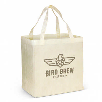 City Shopper Natural Look Tote Bag (117692_TRDZ)